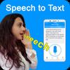 Discurso a texto: notas de voz y escritura de voz icono