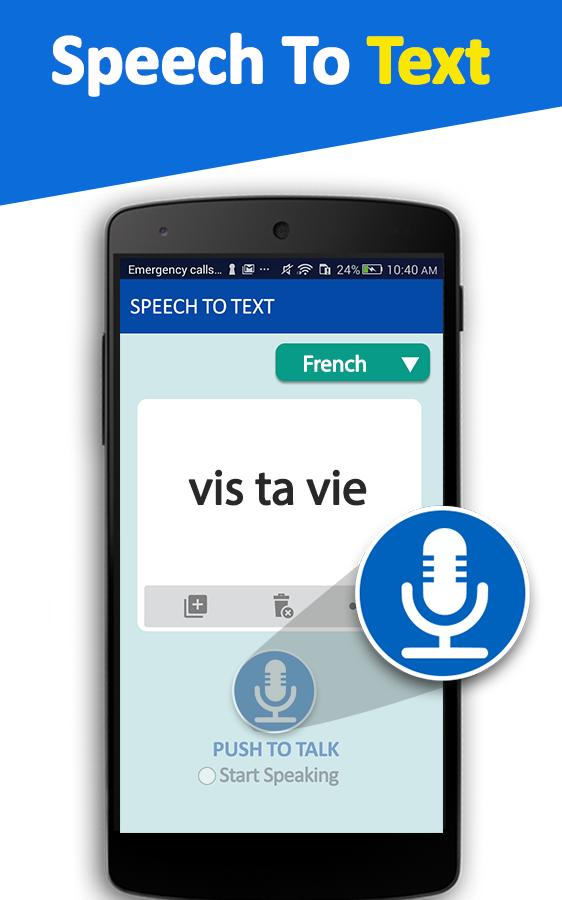 Speech To Text Converter- Voice Typing App for Android - APK