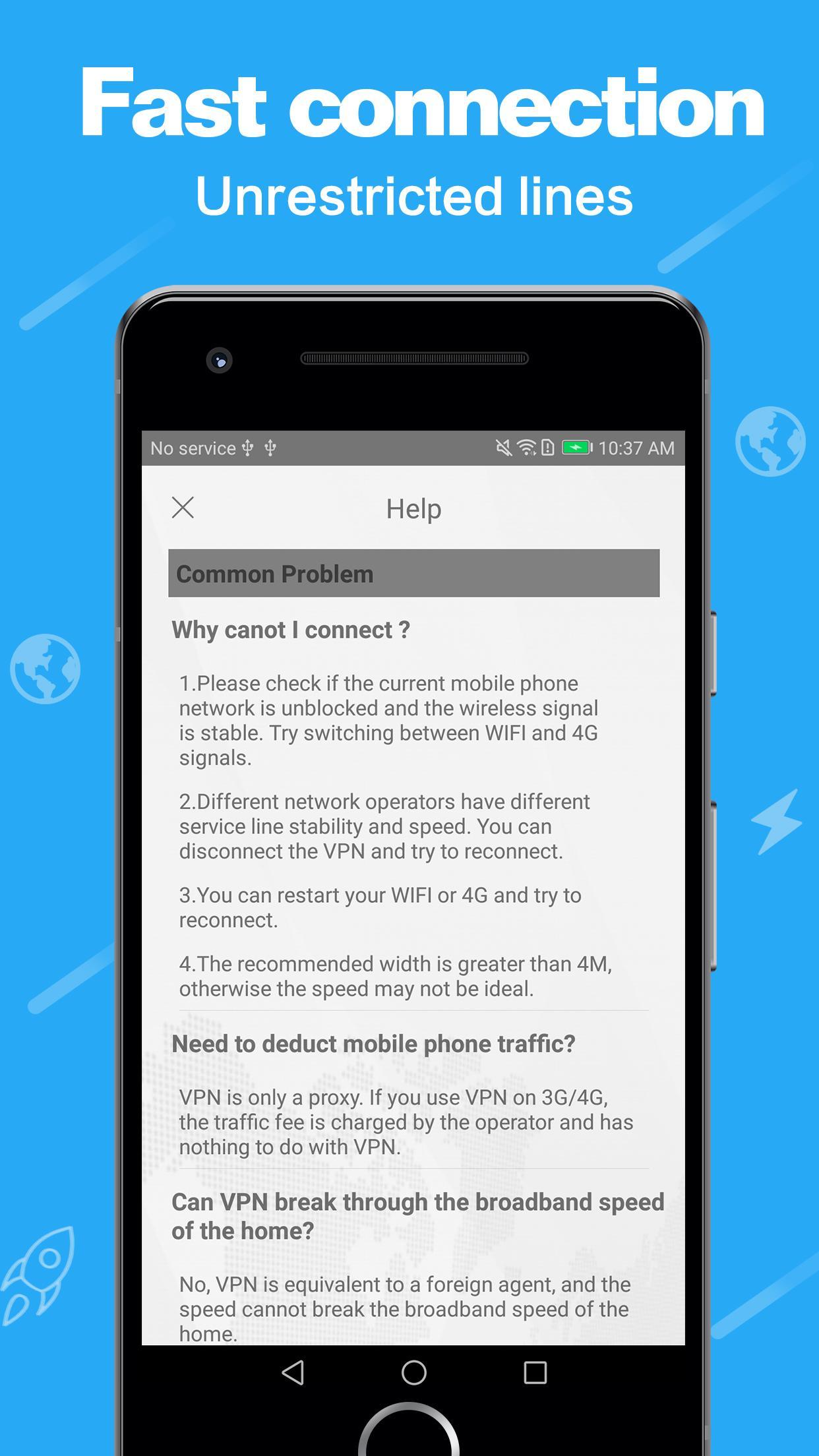 VPN - Speed VPN unlimited faster proxy VPN master for Android - APK