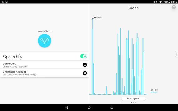 Speedify screenshot 5