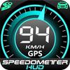 GPS-спидометр HUD Цифровой дисплей иконка