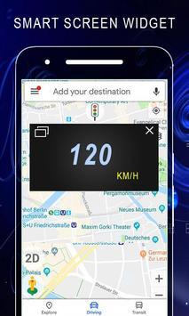 GPS 속도계 HUD 디지털 디스플레이 스크린샷 3