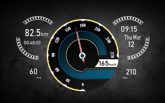 Speedometer HUD Speed Camera Detector & Find Maps screenshot 4