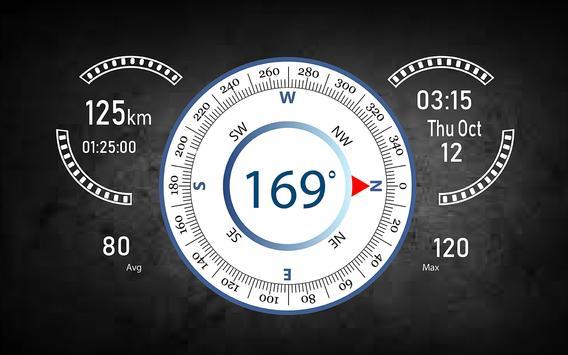Speedometer HUD Speed Camera Detector & Find Maps screenshot 6