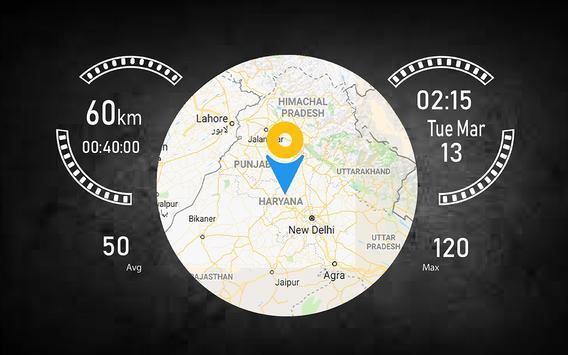 Speedometer HUD Speed Camera Detector & Find Maps screenshot 7