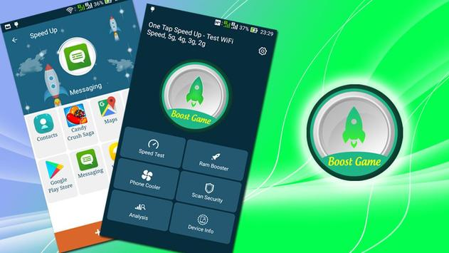 One Tap Speed Up - Test speed WiFi 5g 4g 3g 2g screenshot 8