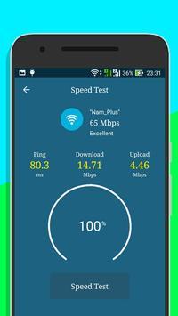 One Tap Speed Up - Test speed WiFi 5g 4g 3g 2g screenshot 3