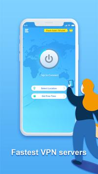 Speedy Quark VPN - Fast Servers & Secure Porxy screenshot 1