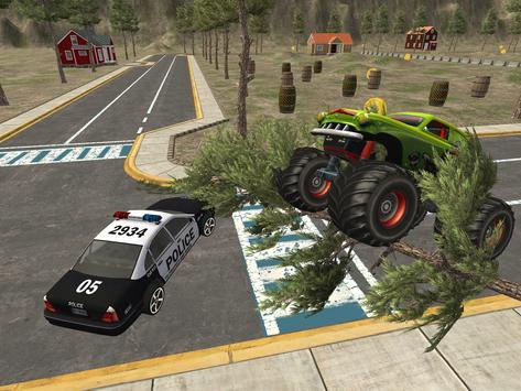 Effacer Monster Truck: Destruction Driving screenshot 12