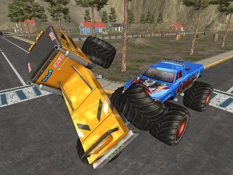 Effacer Monster Truck: Destruction Driving screenshot 13