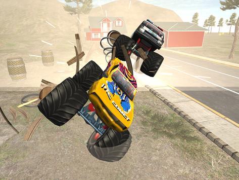 Effacer Monster Truck: Destruction Driving screenshot 1