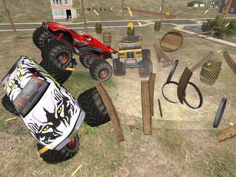 Effacer Monster Truck: Destruction Driving screenshot 9