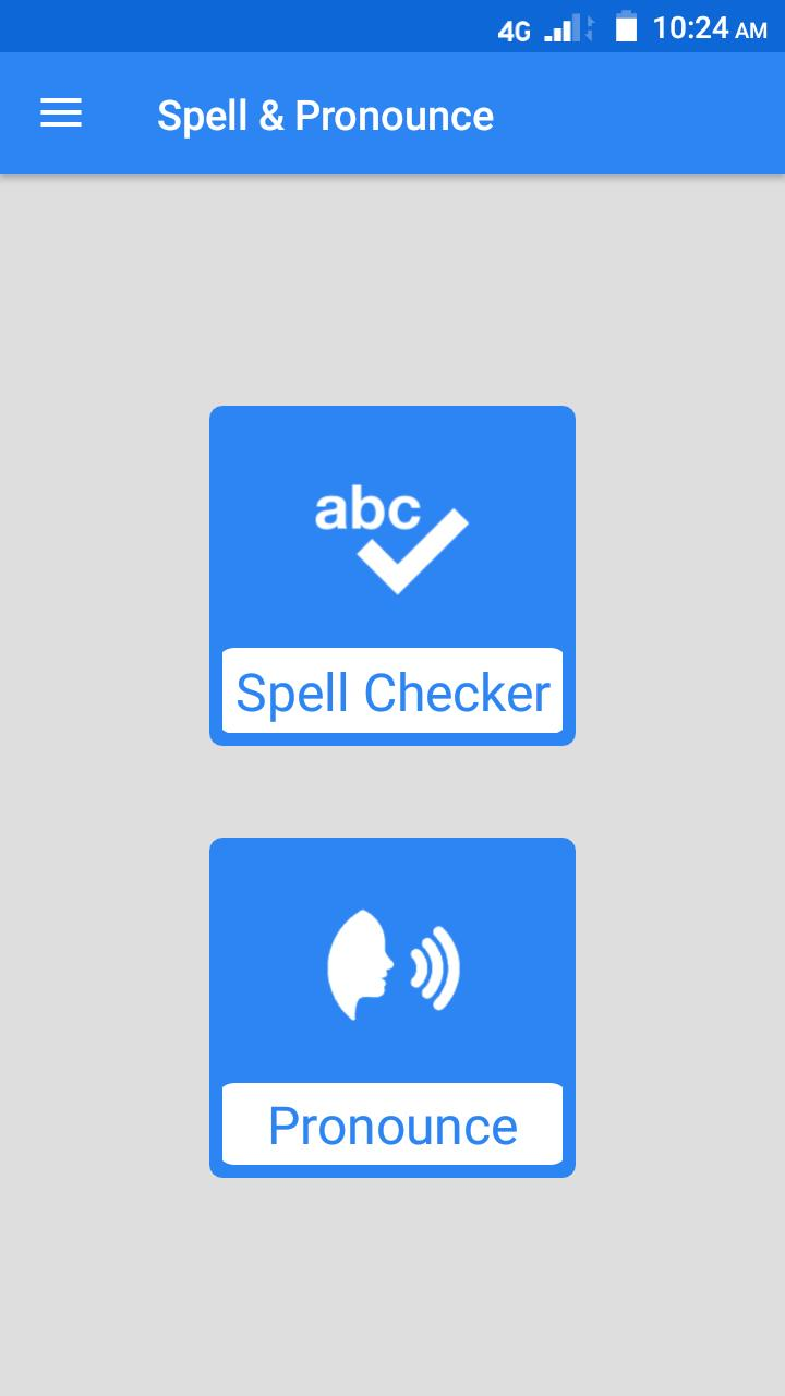 Spell & Pronounce for Android - APK Download