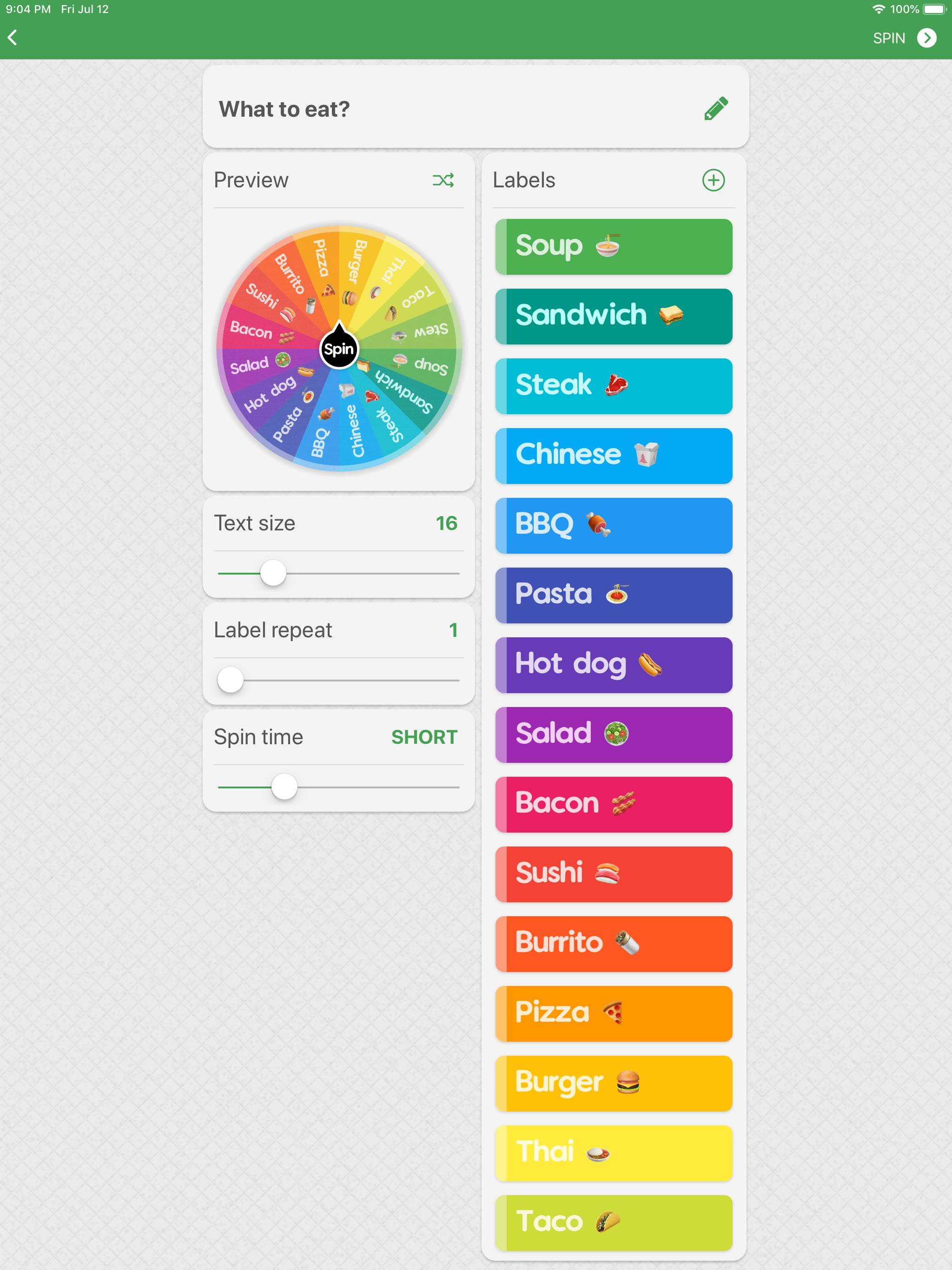 Spin The Wheel Random Picker For Android Apk Download