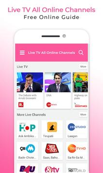 Live All TV Channels Online Guide screenshot 3