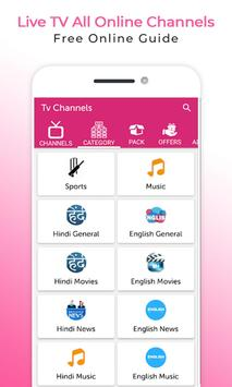 Live All TV Channels Online Guide screenshot 4