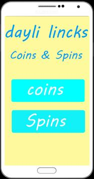 MC Daily Free Spins & Coins _ Daily Update poster