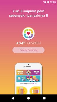 AD-IT FORWARD poster
