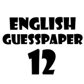English 12 Guess Paper icon