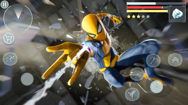 Spider Hero - Super Crime City Battle poster