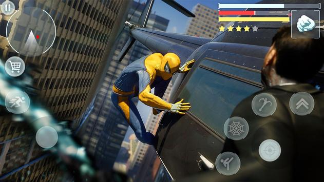 Spider Hero - Super Crime City Battle screenshot 12