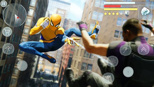 Spider Hero - Super Crime City Battle screenshot 13