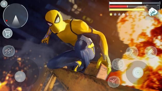 Spider Hero - Super Crime City Battle screenshot 3