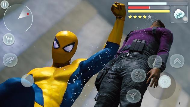 Spider Hero - Super Crime City Battle screenshot 9
