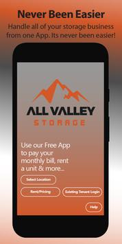 All Valley Storage poster