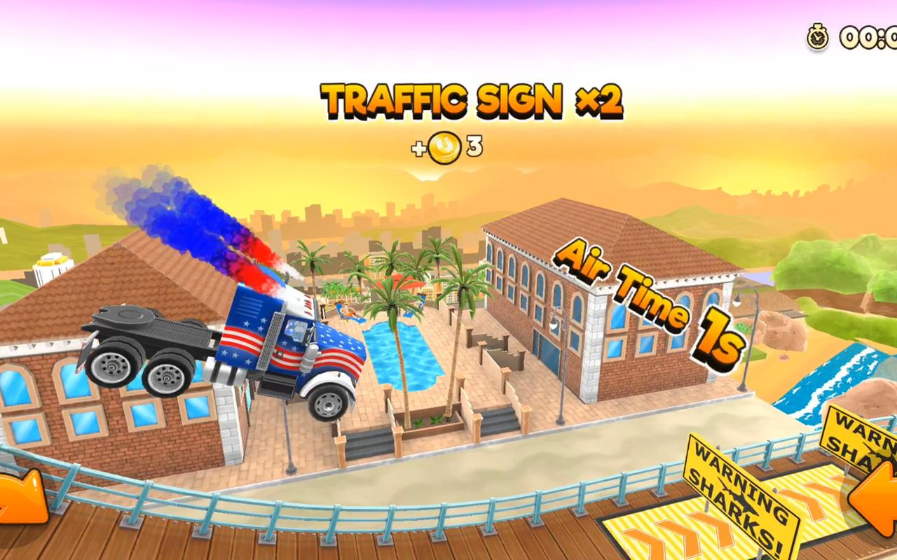 Image result for Uphill Rush USA Racing game pic