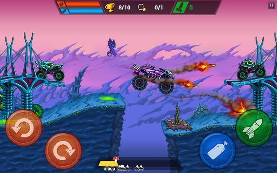 Mad Truck Challenge - Shooting Fun Race स्क्रीनशॉट 16