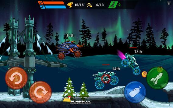 Mad Truck Challenge - Shooting Fun Race स्क्रीनशॉट 10