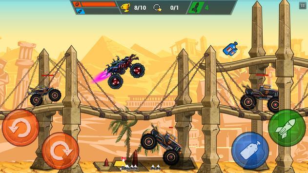 Mad Truck Challenge - Shooting Fun Race स्क्रीनशॉट 1