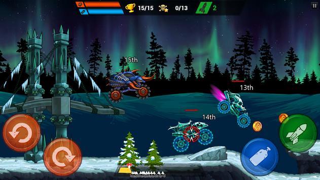 Mad Truck Challenge - Shooting Fun Race स्क्रीनशॉट 3