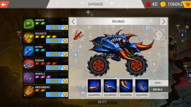 Mad Truck Challenge - Shooting Fun Race स्क्रीनशॉट 4