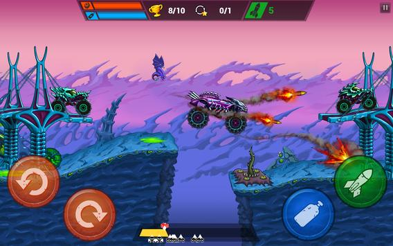 Mad Truck Challenge - Shooting Fun Race स्क्रीनशॉट 9