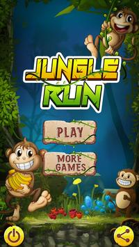Jungle Monkey Survival: Free Run Game poster