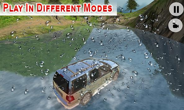 Offroad Land Cruiser Jeep Car Sim screenshot 4