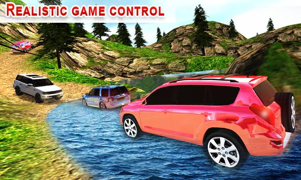 Offroad Land Cruiser Jeep Car Sim screenshot 11