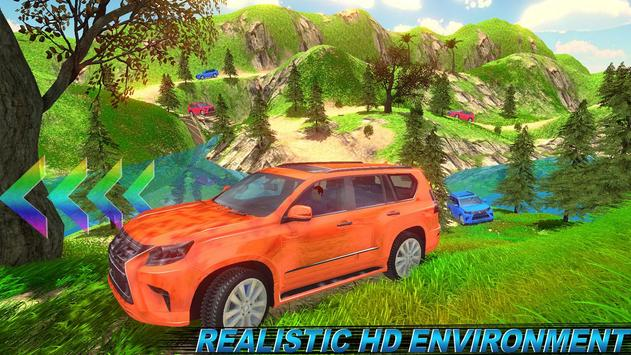 Offroad Land Cruiser Jeep Car Sim screenshot 12