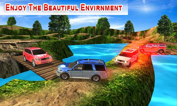 Offroad Land Cruiser Jeep Car Sim screenshot 16