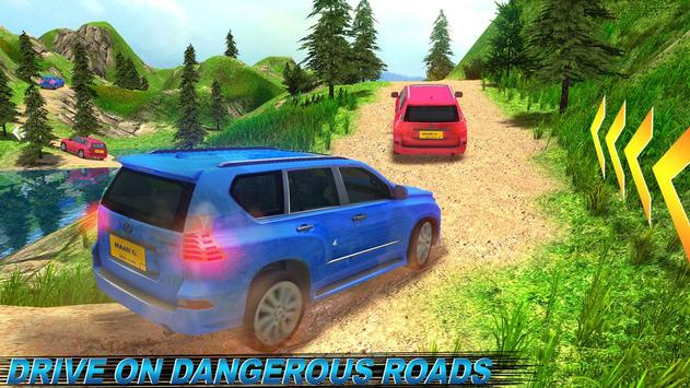 Offroad Land Cruiser Jeep Car Sim screenshot 1