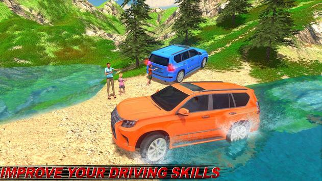 Offroad Land Cruiser Jeep Car Sim screenshot 3