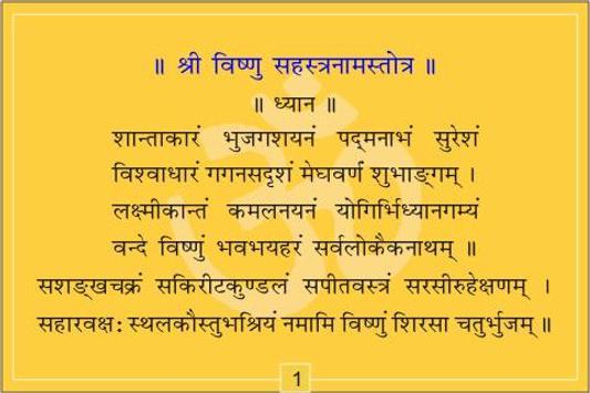 Vishnu Chalisa and Sahasranam screenshot 2
