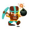 Dig bombers: PvP Kazıcı Mücadelesi Battle Royale simgesi