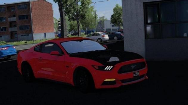 Car Driving Ford Speed Racing - Simulator 2019 screenshot 2