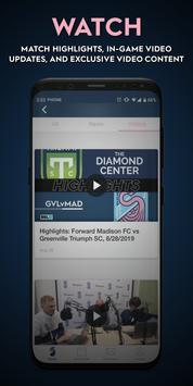 Forward Madison FC screenshot 3