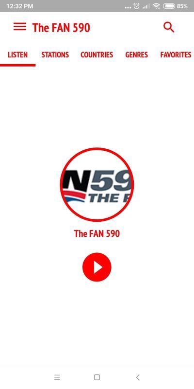 Fan 590 AM Radio Toronto