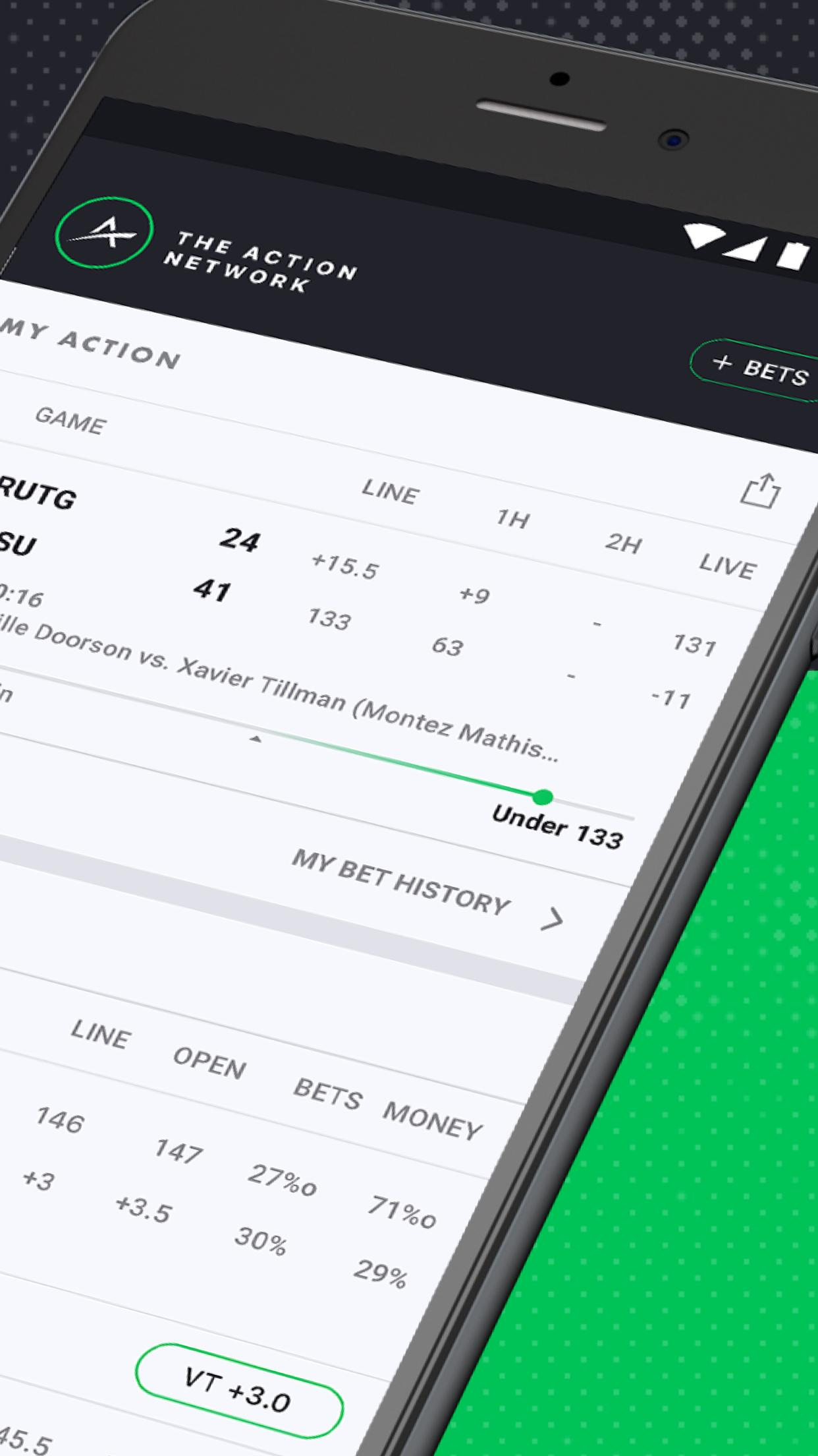 The Action Network: Sports Scores & Live Tracker for Android