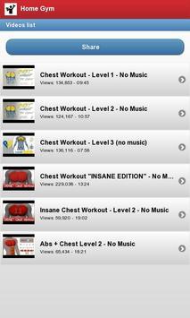 Home Gym screenshot 3